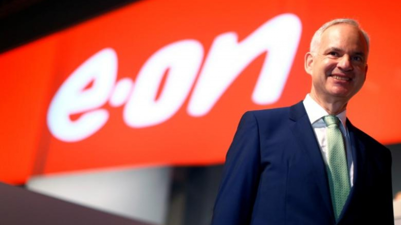 E.ON Chief Executive Officer Johannes Teyssen is seen during the annual shareholders meeting in Essen, Germany May 10, 2017. REUTERS/Thilo Schmuelgen